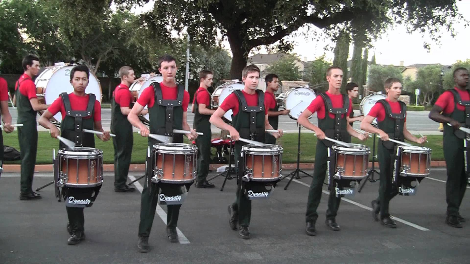 Vanguard Drumline 2012 – Drum Break