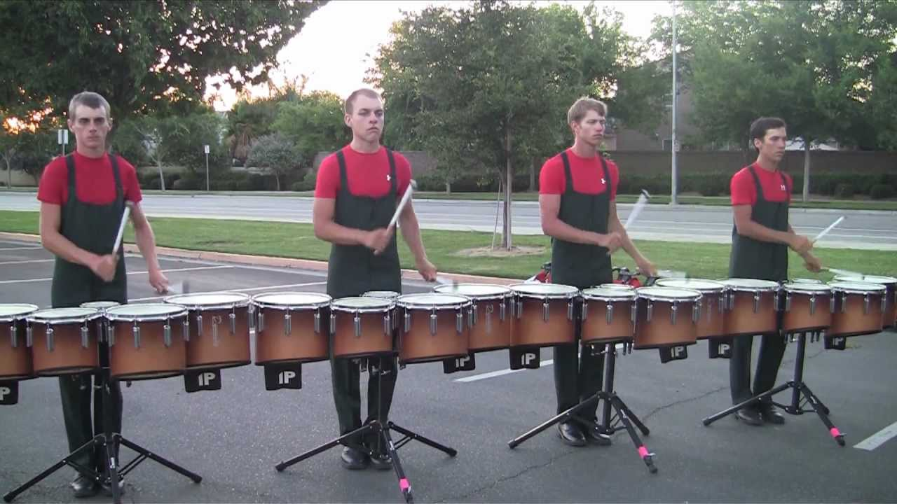 Vanguard Drumline 2012 – Exercises