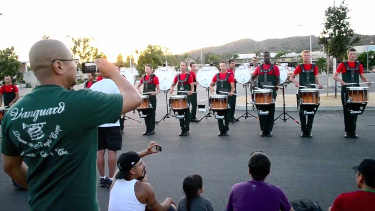 Vanguard Drumline 2012 (HD) (HQ Audio)