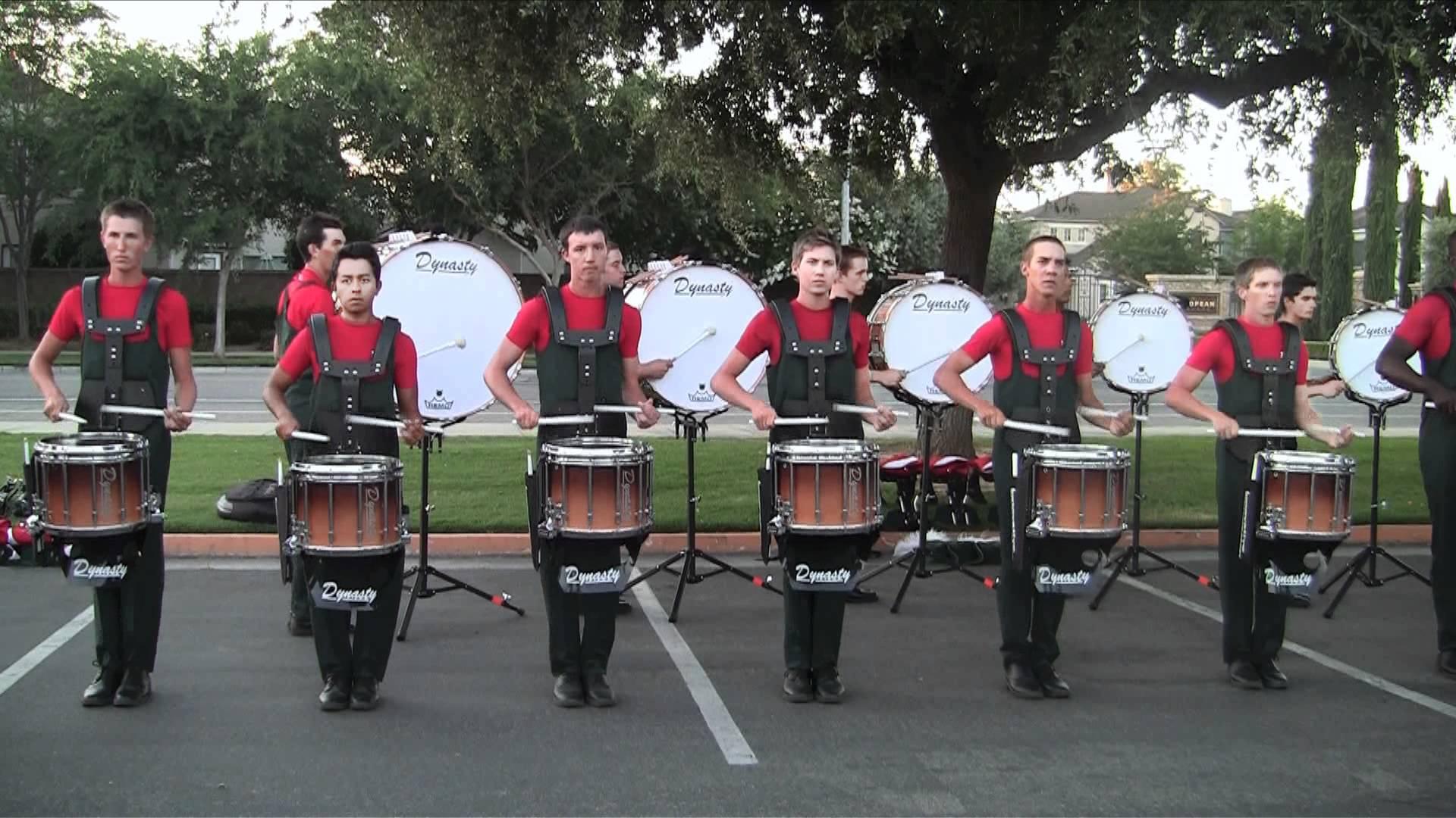 Vanguard Drumline 2012 – Opener