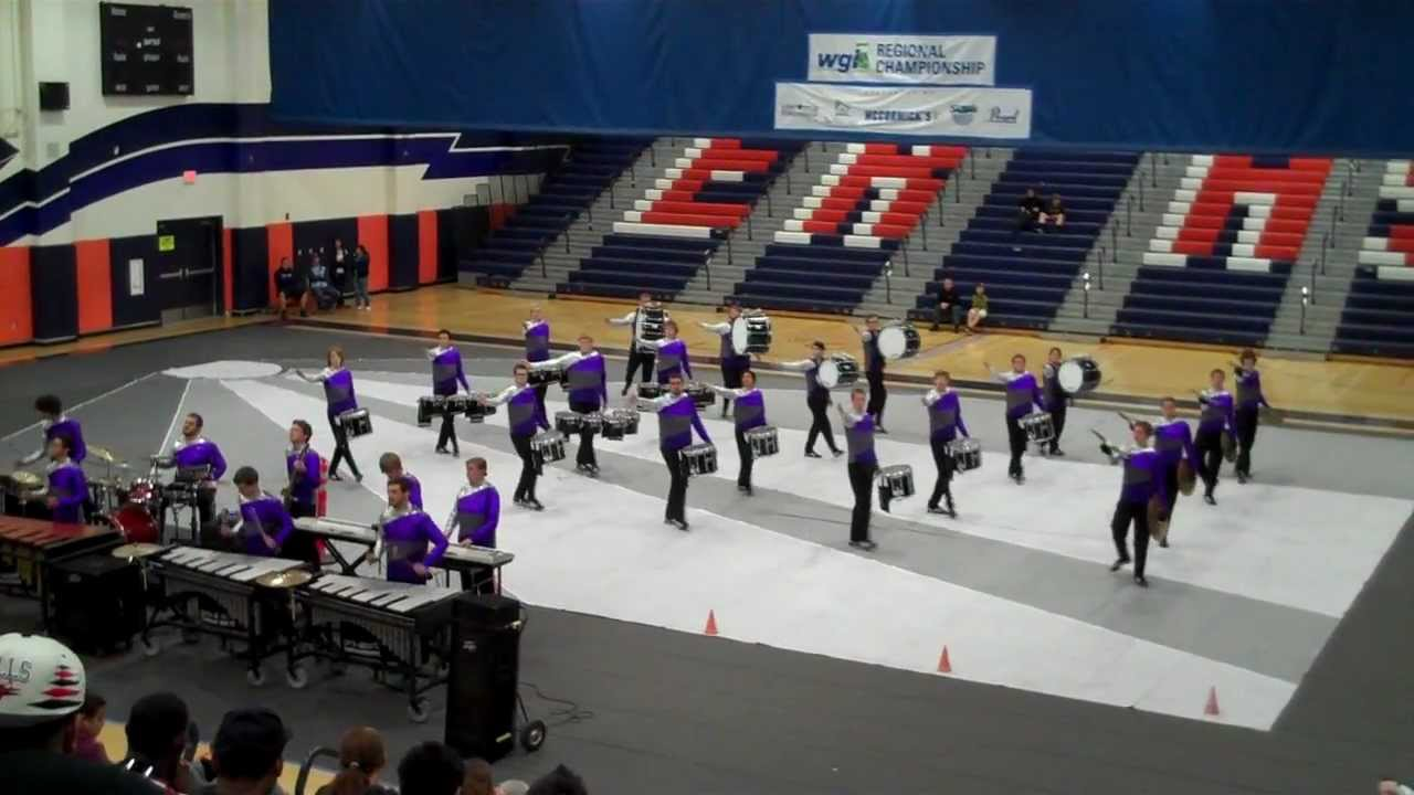 Weber State Indoor Percussion 2012 – Slow Me Down