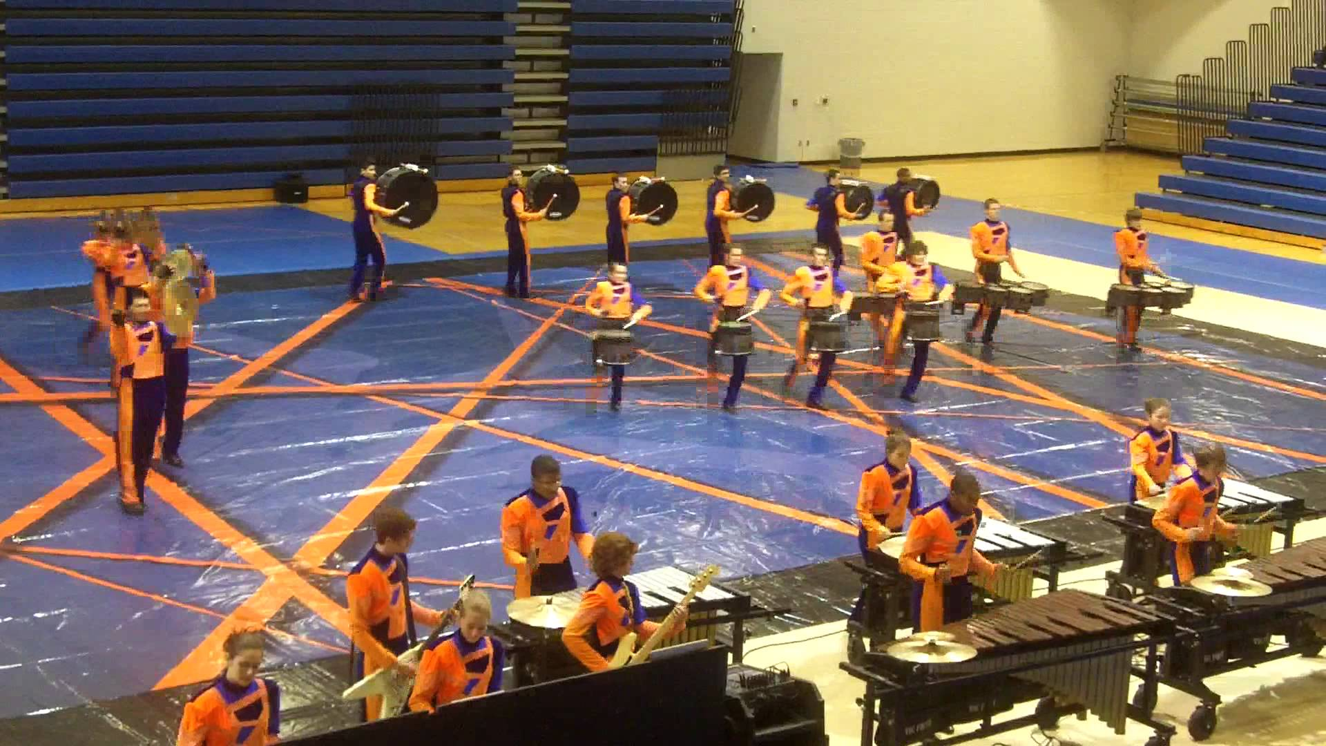 West Bloomfeild High School Winter Drumline 2012