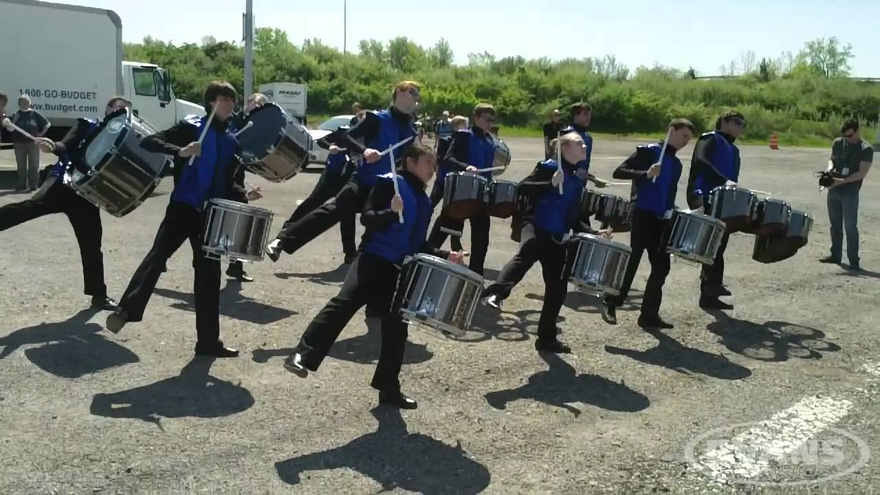 WGI 2012 | In the Lot – Rochester Lourdes HS