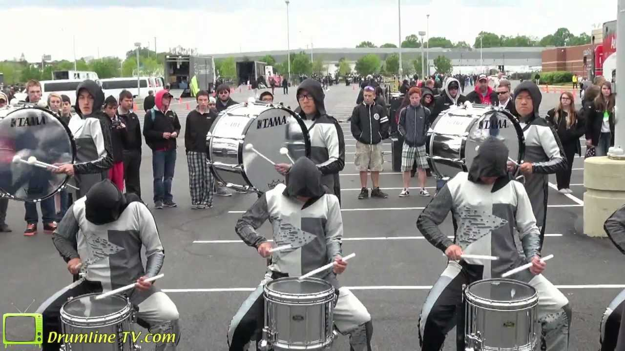 WGI 2012 Percussion World Championships (Dayton, OH) Ayala High School Drumline, 4/21/12