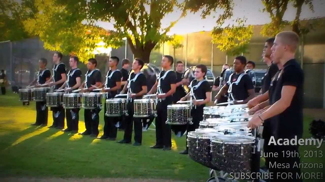2013 – The Academy Drumline – Southwest Corps Connection
