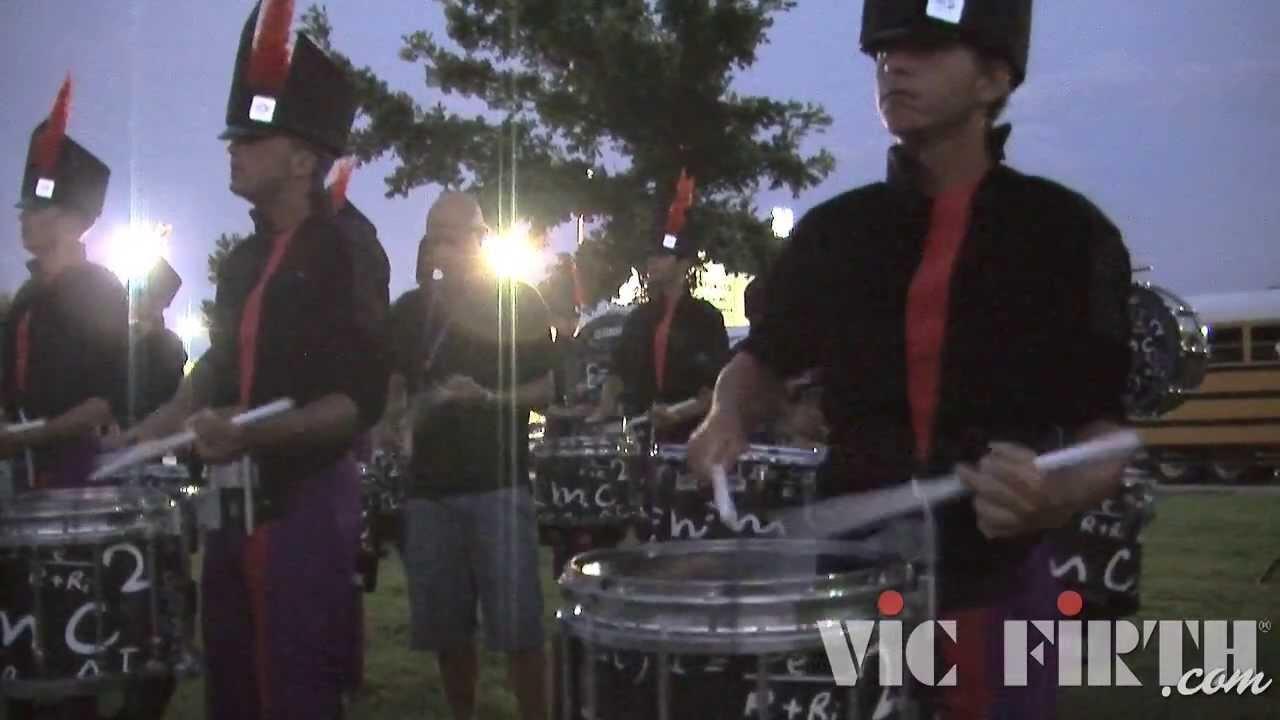 "Carolina Crown ""In the Lot"" : DCI 2013 Denton, TX : HD Footage!"
