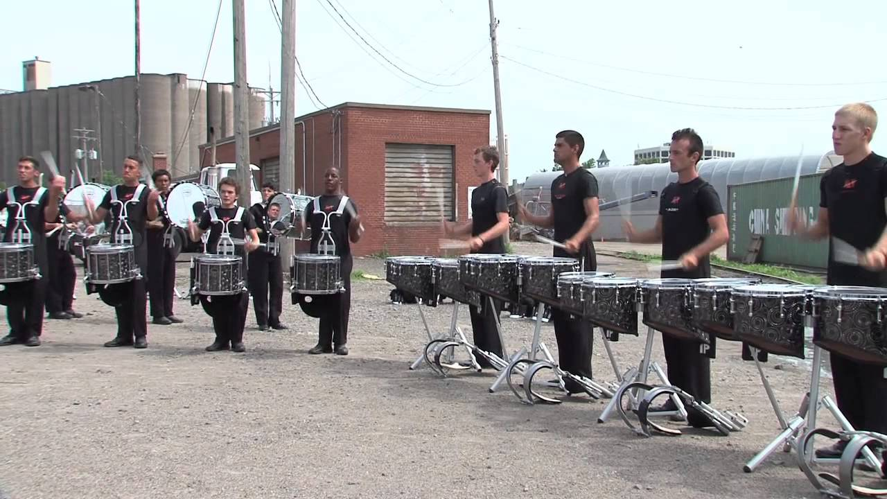 DCI In The Lot: The 2013 Academy Drumline