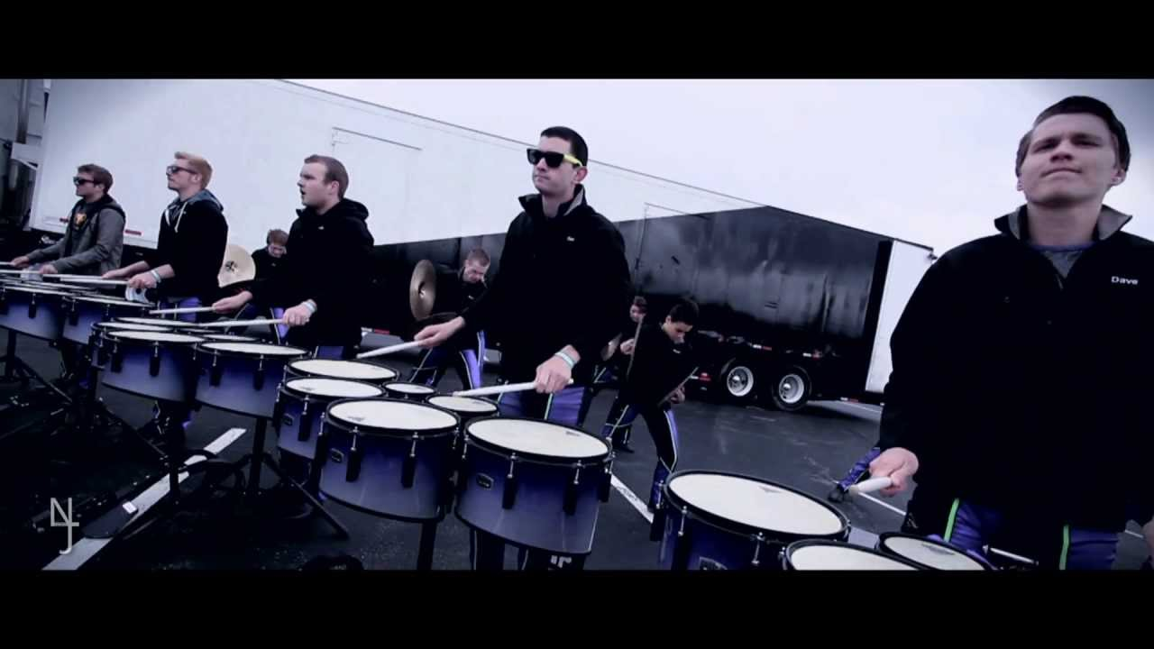 Matrix drumline 2013 at wgi finals 2013 in the lot