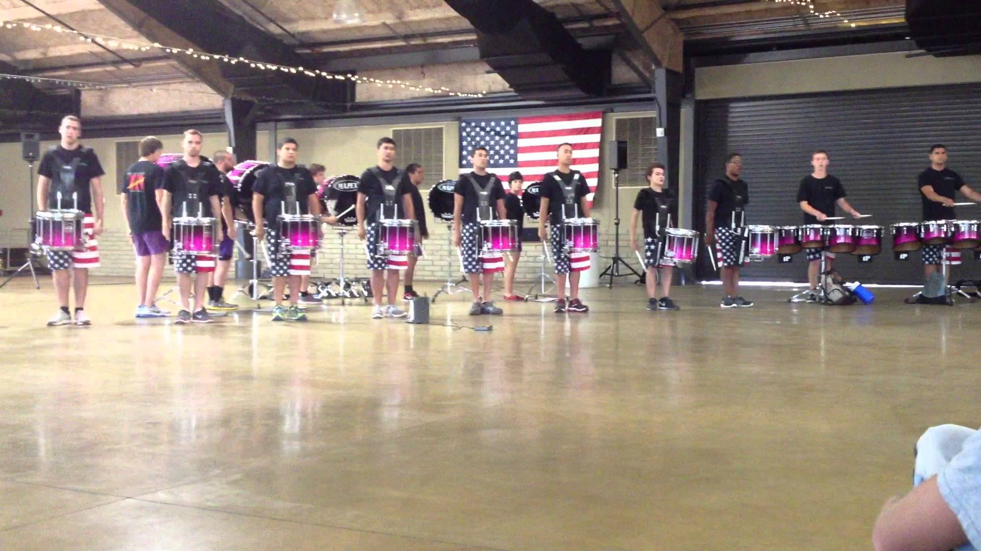 The Academy Drum and Bugle Corps 2013 – Memorial Day Drumline – Show excerpt