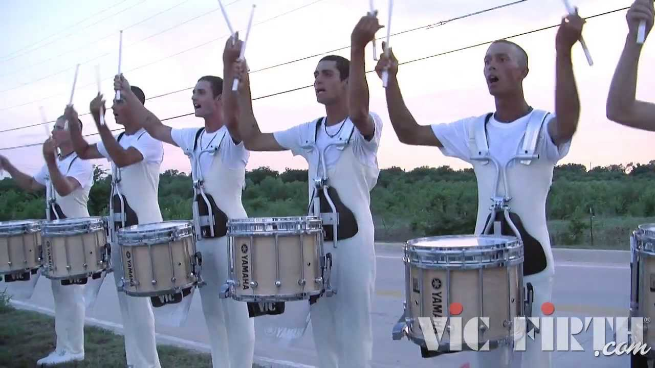 "The Cadets ""In the Lot"" : DCI 2013 Denton, TX : HD Footage!"