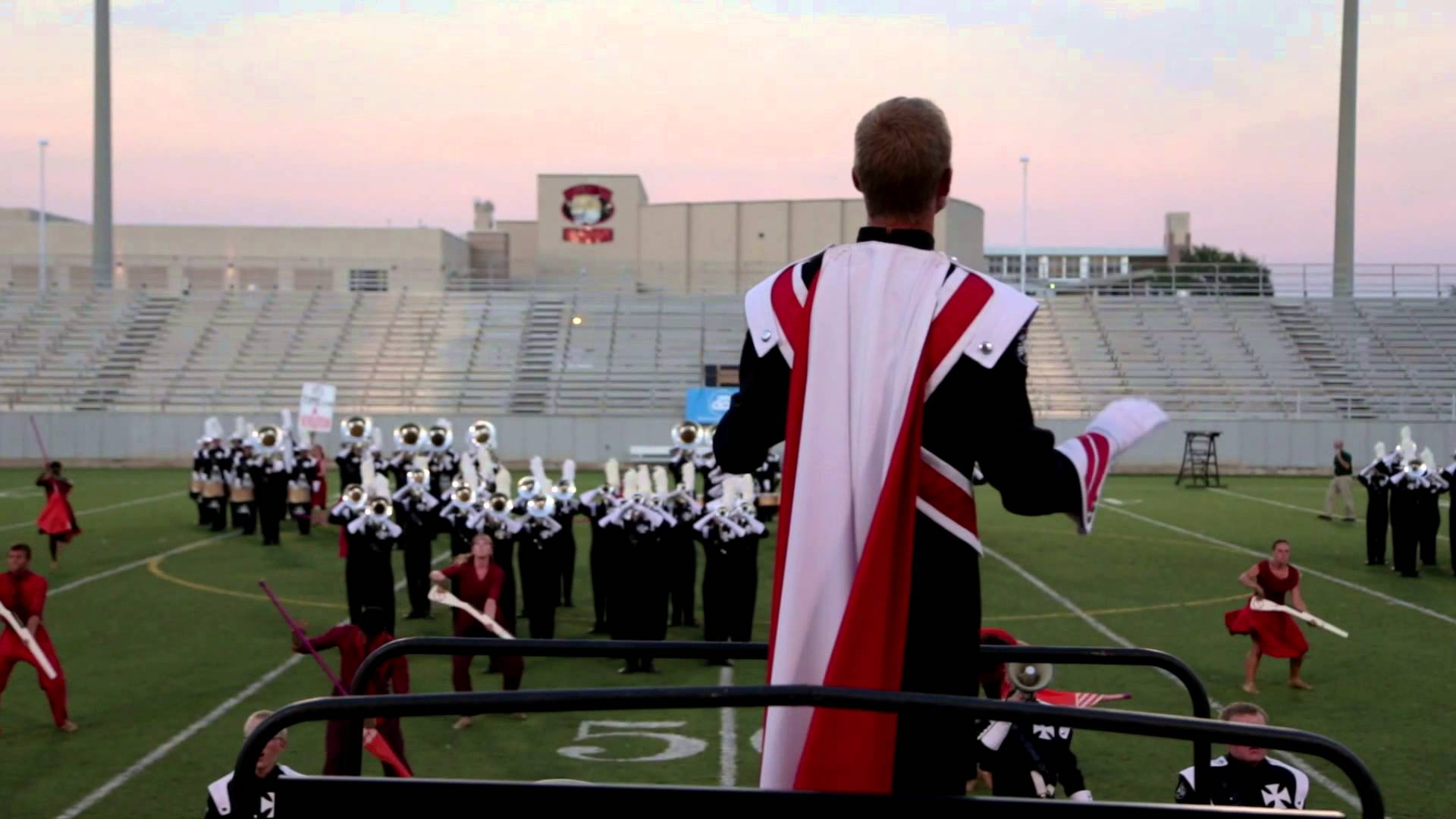 2013 Crossmen – DCI Dallas Drum Major Cam