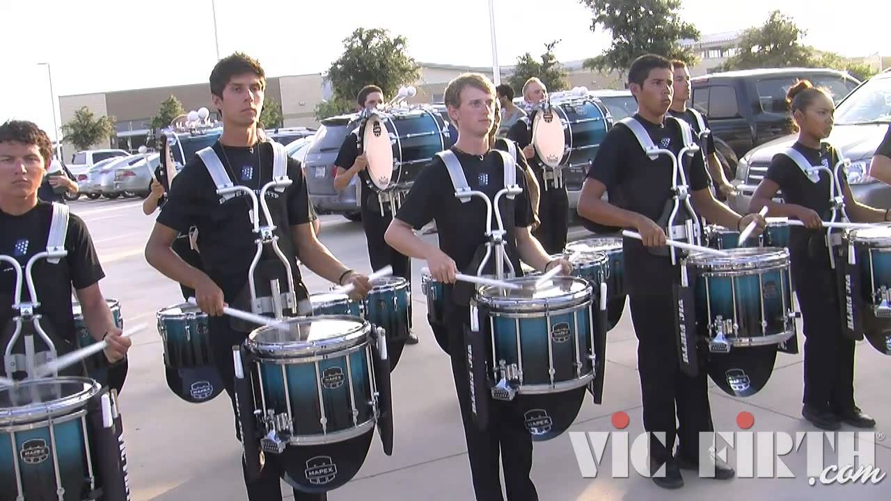 "Blue Knights ""In the Lot"" : DCI 2013 Denton, TX : HD Footage!"