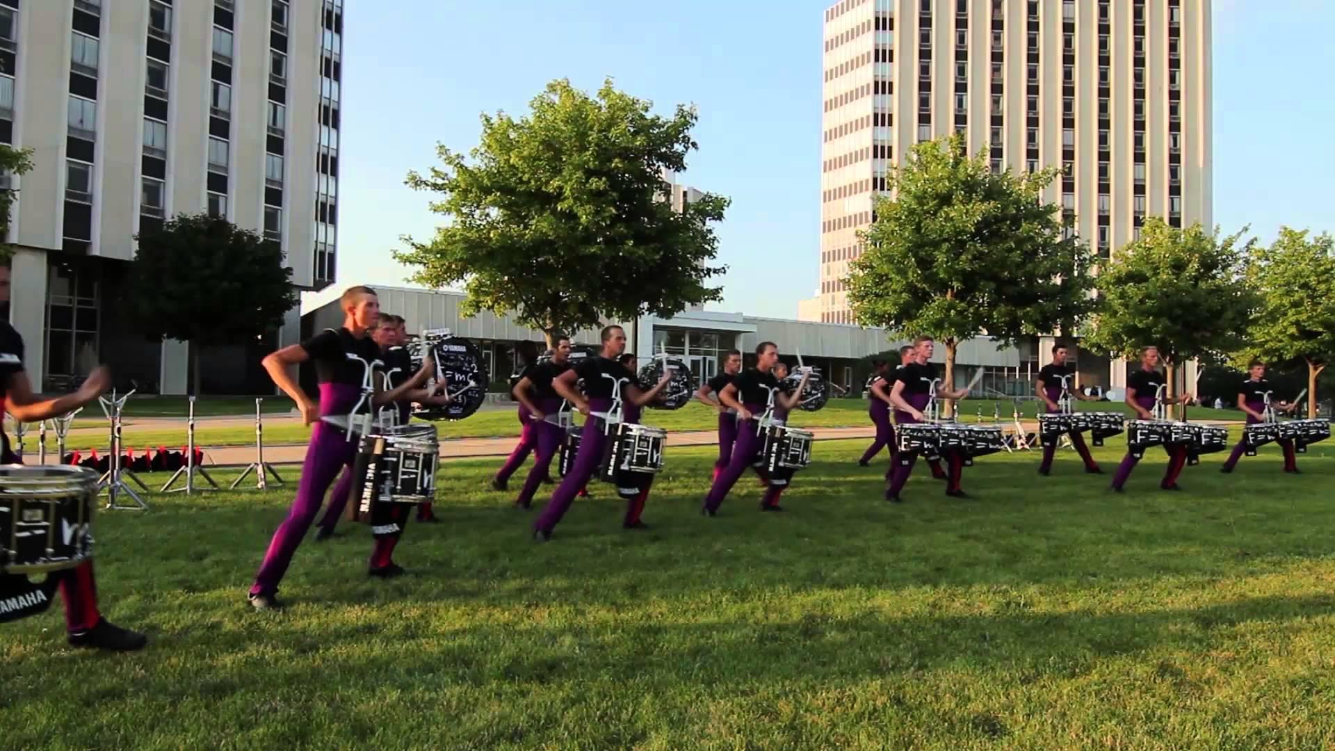 "Carolina Crown ""In the Lot"" : DCI 2013 DeKalb, IL : HD Footage!"