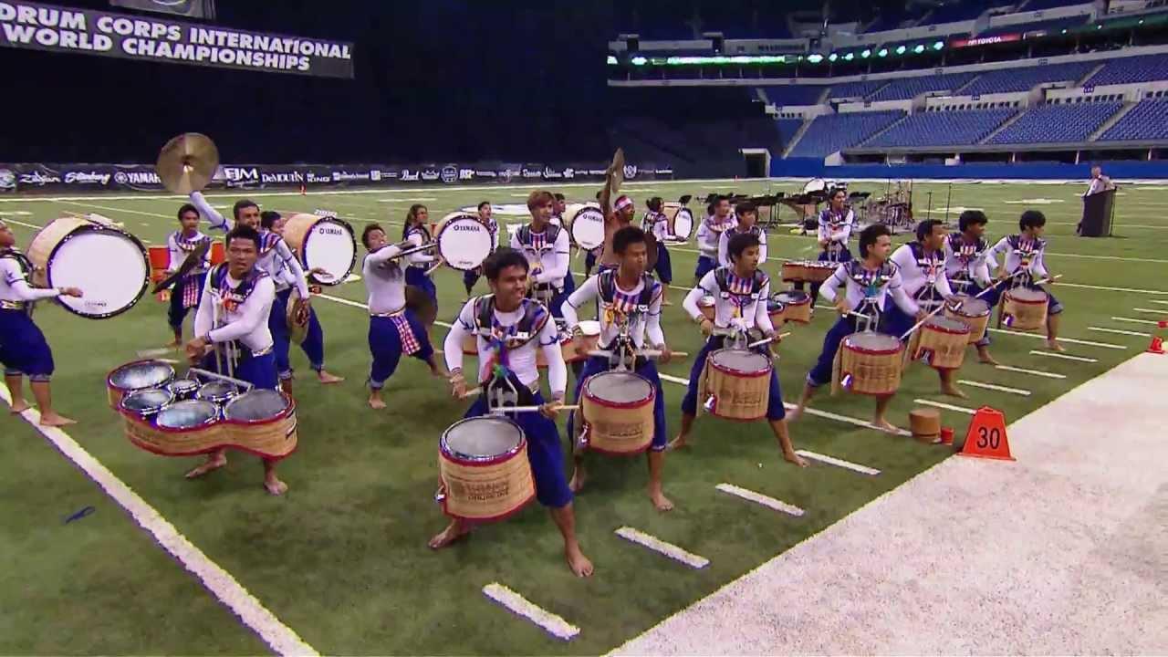 DCI FInals DrumLine Battle Champions E-Sarn