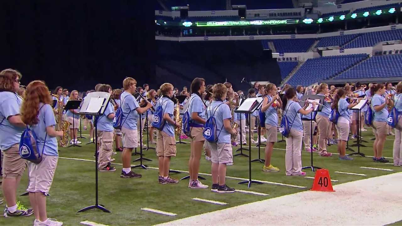 INpact Band performance at 2013 DCI Finals