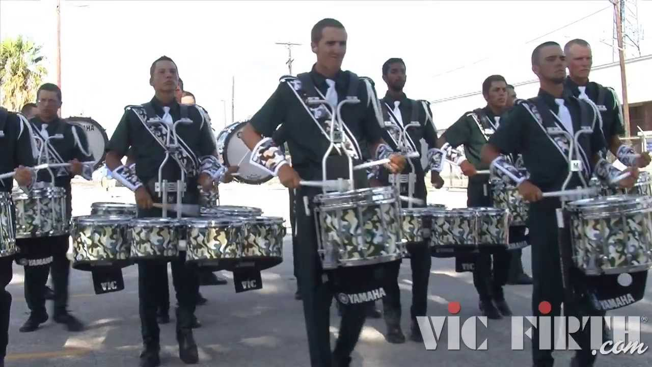 "Madison Scouts ""In the Lot"" : DCI 2013 San Antonio, TX : HD Footage!"