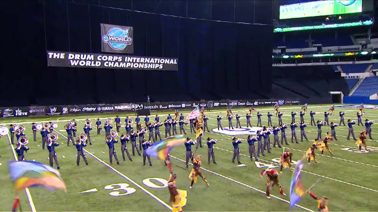 """Magnificent 11″ Troopers 2013 DCI Semifinals"