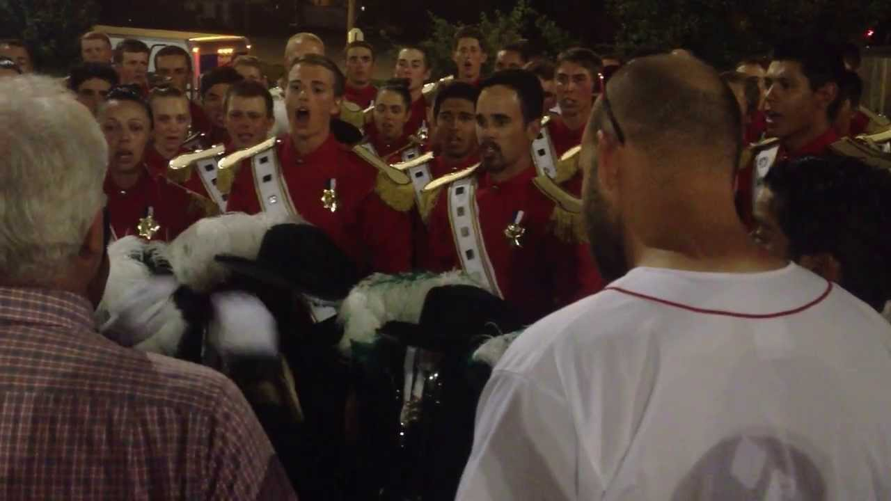 "SCV Hornline Sings ""Send In The Clowns"" after DCI Finals 2013"
