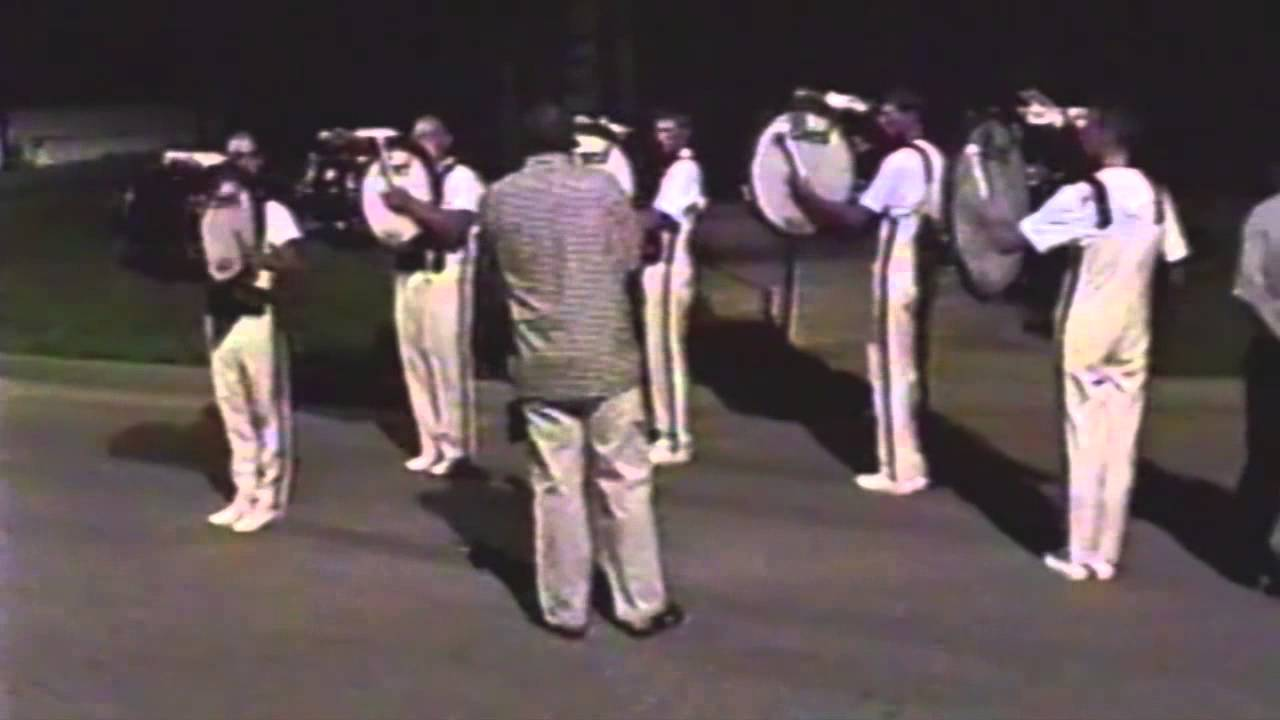 The Cadets 2000 Bass Line (Holy Bass) DCI Finals In The Lot Aug 12, 2000