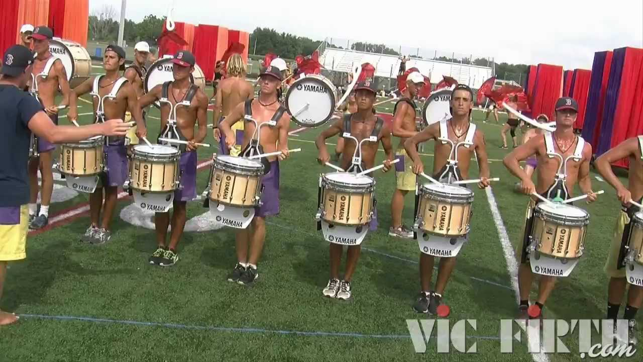 DCI 2013: Cadets, Full Corps Part 2 / Vic Firth Multi-Cam HD Footage!