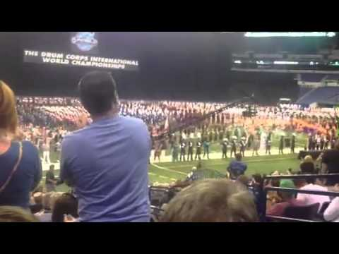 DCI Finals 2013 1st and 2nd Place Awards