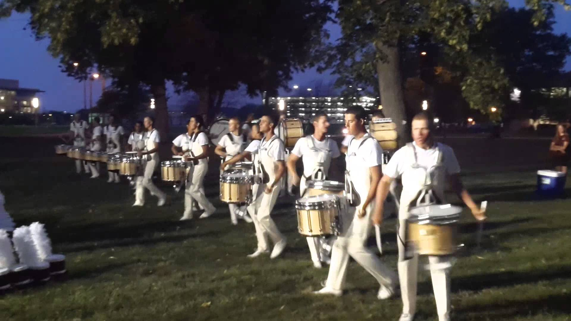 The Cadets drumline DCI 2013 Quarter Finals Warm up 5